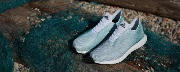 Shoes made from Ocean waste!