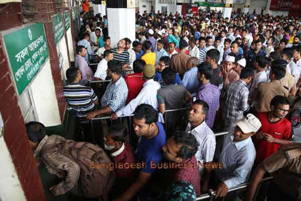 Ticket sales business surfs rising tide of web usage in Bangladesh