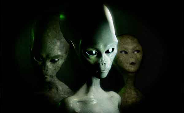 'Aliens exist and look just like humans'