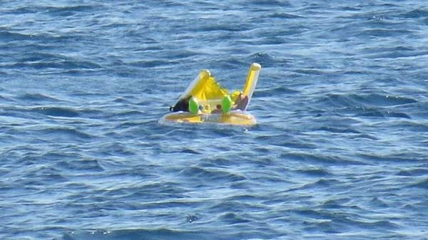 10-month-old baby rescued out at sea in Turkey