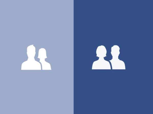 Facebook changes friends icon