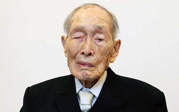 World's oldest man dies at 112 in Japan