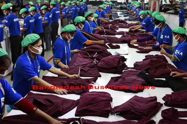 Bangladesh's export earnings grow by 4.44% in H1