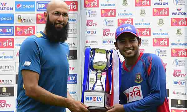 Rain settles Bangladesh v SA 2nd Test for draw