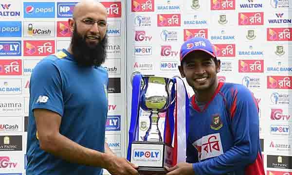 Rain settles Bangladesh v SA 2nd Test for draw
