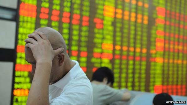 China shares trade lower once again