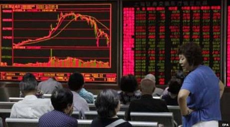 Chinese shares rocked by weak factory data