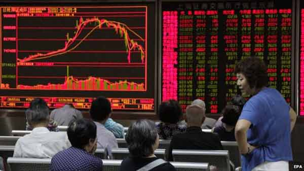 Asian shares make sharp losses amid global rout