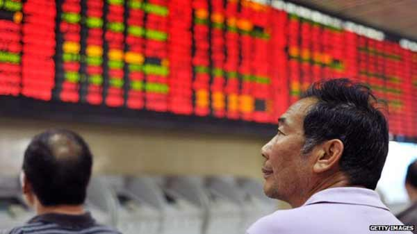 China shares jump despite weak economic data