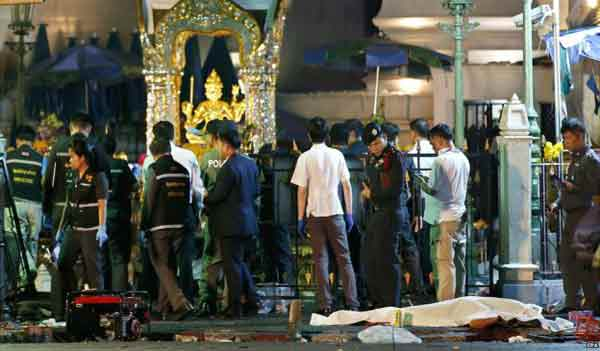'Bangkok bomb was worst ever attack on Thailand'