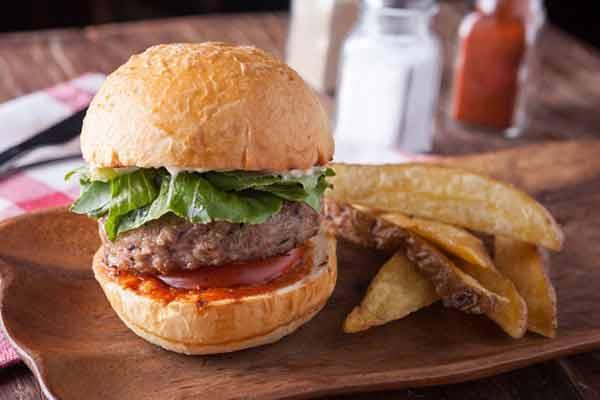 Cilantro burgers! Cook in an easy way