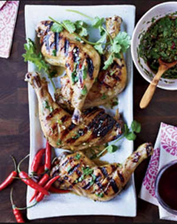 Thai Chicken with Hot-Sour-Salty-Sweet Sauce. Photo: Foodandwine.com