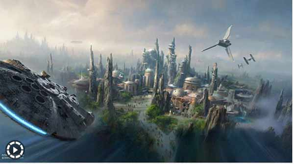 Star wars coming soon … at Disney Theme Parks