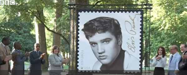Elvis Presley honoured with new US stamp