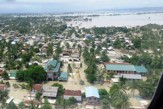 UN allocates $9.0m to rapidly scale up urgent flood relief in Burma