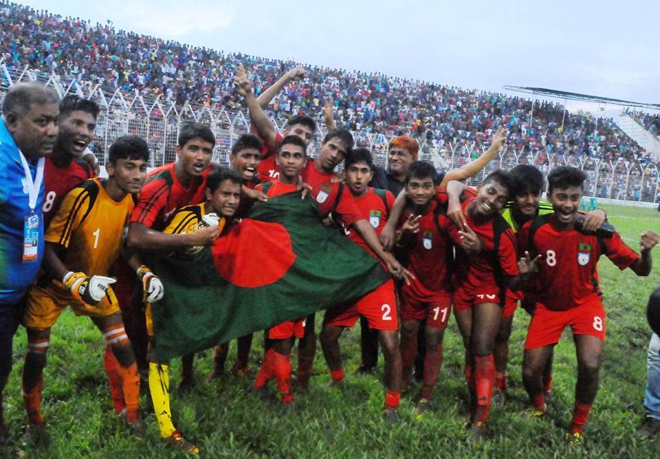 Bangladesh seal U16 SAFF Championship 2015 title
