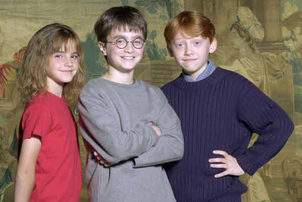Original Harry Potter cast announcement was 15 years ago this week