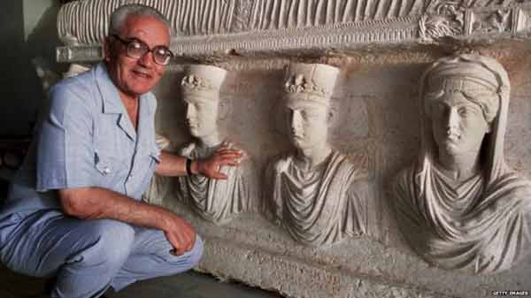 Syrian archaeologist 'killed by IS'
