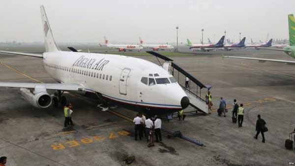 Indonesian plane with 54 people missing over Papua