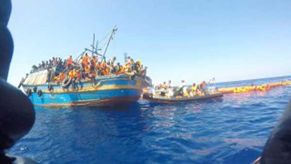 Migrant tragedy: 50 bodies found on Libya boat