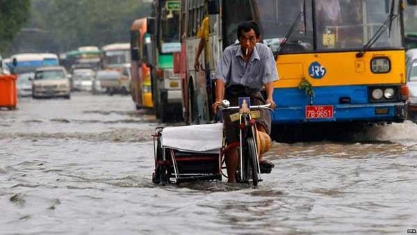 Myanmar declares flood emergency