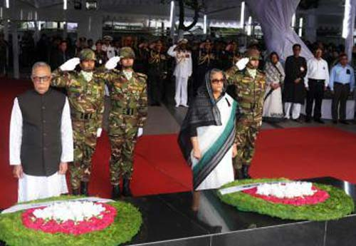President, PM pay homage to Bangabandhu