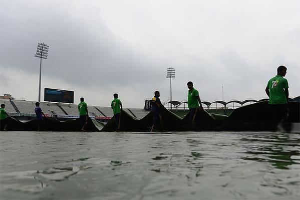 Rain makes hat-trick of Bangladesh-S Africa Test washouts