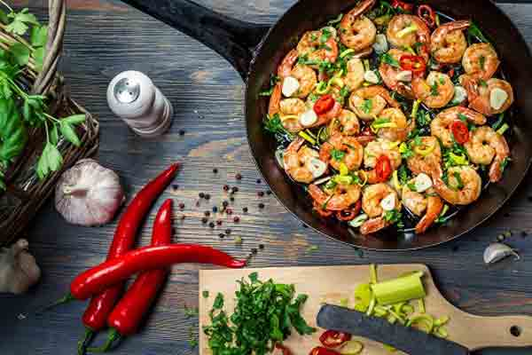 Short time in hand? Spend 2 min and make quick summer shrimp