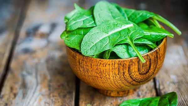 Too much food craving? Spinach to the rescue