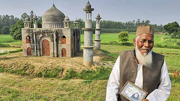 This retired UP postmaster built a Taj Mahal for his 'Mumtaz'