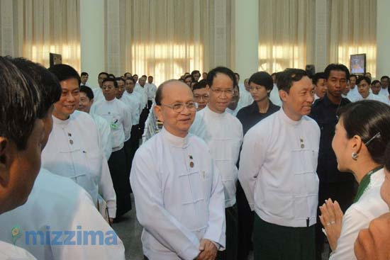 Myanmar President Thein Sein will not run next elections