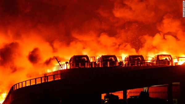Death toll in Tianjin explosions reaches 112