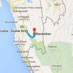 Bandarban map