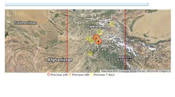 6.2 earthquake hits Afghanistan, India
