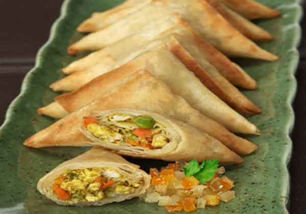 Vegetable Samosa, a light meals