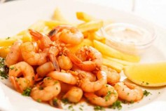 Tasty summer shrimp recipe with lemon flavour