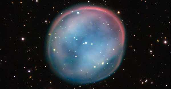 What is this beautiful bubble in space?