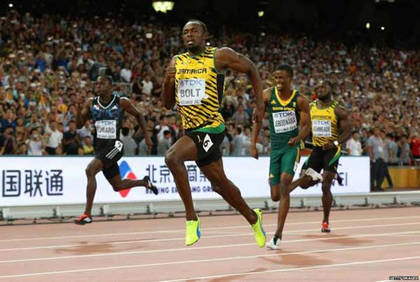 How does Usain Bolt run so fast?