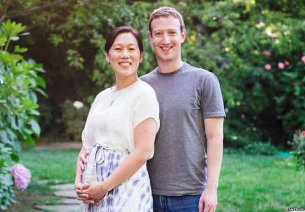 Facebook's Zuckerberg to become a father