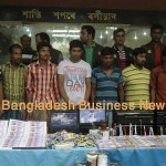 Six persons held with fake notes in Dhaka. Photo: BBN