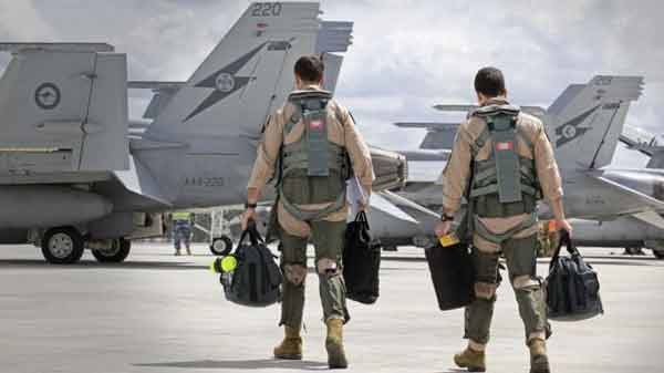 Australia launches first air strikes inside Syria