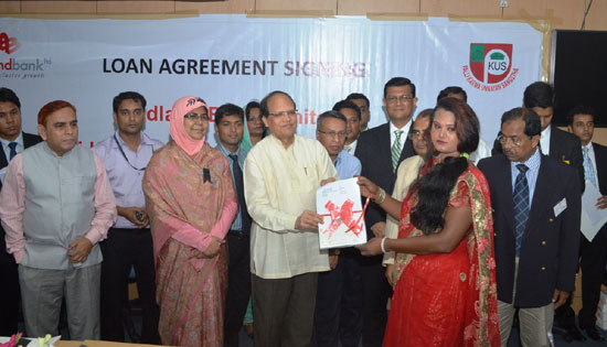 Banks advised to extend credit for disadvantaged people in Bangladesh