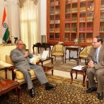 BB governor with Pranab.Photo: BB