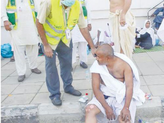 Hajj stampede: United after 20 years, separated in seconds