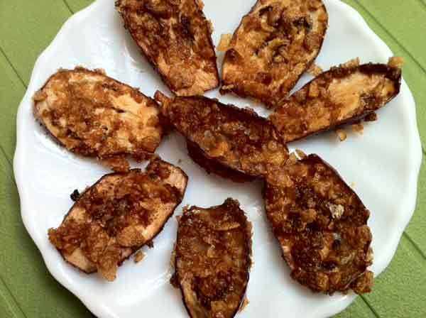Do you want to cook crispy brinjal fry?