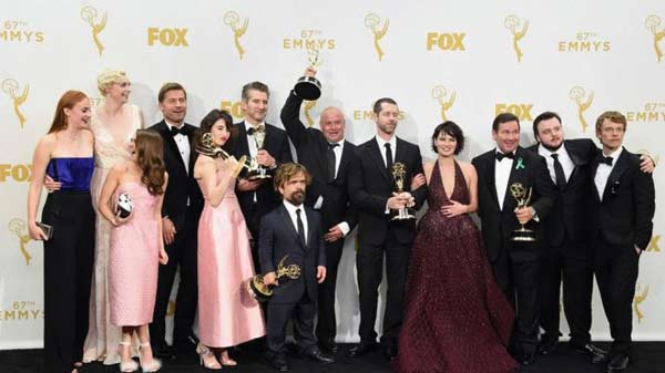 Game of Thrones and Veep among Emmy award winners