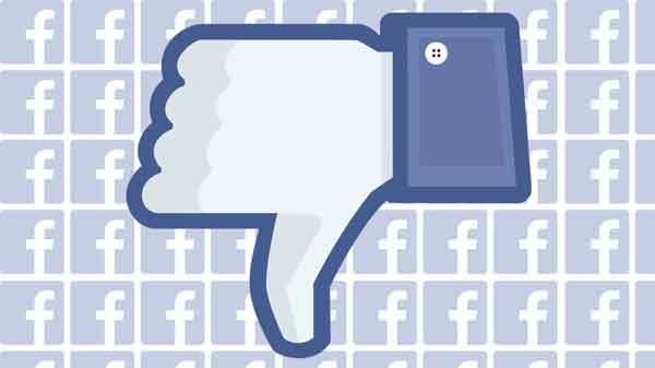 'Dislike' button coming to Facebook
