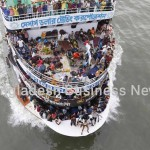 Eid holidaymakers in Bangladesh