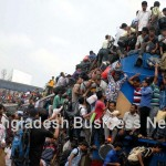 Eid holidaymakers of Bangladesh
