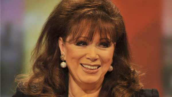 Novelist Jackie Collins dies at 77